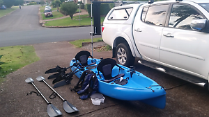 Hobie Outfitter Tandem Kayak - 2014 model Port Macquarie Port Macquarie City Preview