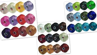 S-lon size D thread, 36 colors, 78 yards each, Beading, Looming, Free Shipping!