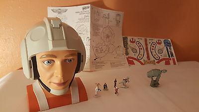 Star Wars - 1996 MicroMachines Rebel Pilot Helmet Playset (Rebel Pilot Helmet)