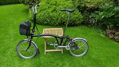 Brompton H3L folding bike in Black