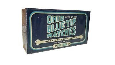 Diamond Ohio Blue Tip Matches, 250-ct Box - Strike on Box Matches - Since -