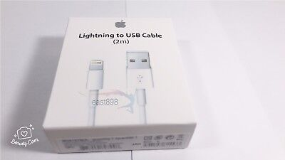2M 6Feet New Oem Apple Lightning Usb Cable Charger Iphone  X 8 7 6 6S Plus 5C