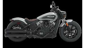 2018 Indian Motorcycles Scout Bobber STAR SILVER SMOKE