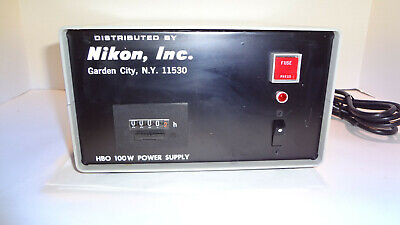 Nikon Transformer Power Supply Hbo 100 Watt Part No.78591