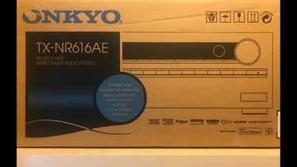ONKYO RECIEVER BRAND NEW 7.2 THX HDMI