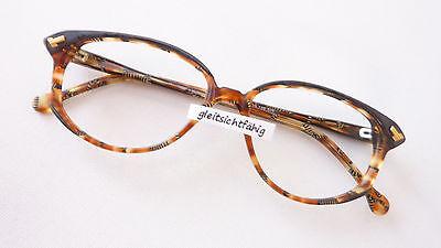 Brillen Rahmen Gestell Kunststoff Meitzner Kuru Hornoptik braun Frauen size M