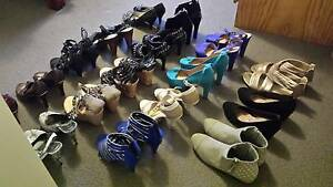 Range of womens heels starting $6 Curtin Woden Valley Preview