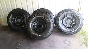 4x4 wheels 265 75 R16 32 ( INCHS) Alexander Heights Wanneroo Area Preview