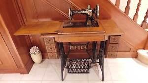Antique Singer treadle sewing machine Penrith Penrith Area Preview