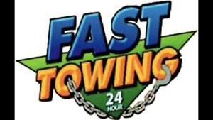 Fast towing service
