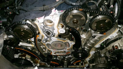 Timing chain replacement v6 alloytec