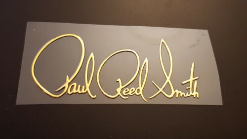 Paul  Reed Smith PRSguitar sticker headstock neck decal PREMIUM QUALITY #41