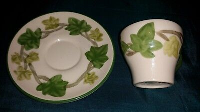 Franciscan Demitasse cup and saucer Ivy II, great condition, bargain