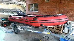 4.2 Hypalon Mercury Inflatable Sandy Bay Hobart City Preview