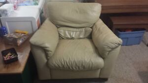 Light Leather Chair