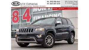 2016 Jeep Grand Cherokee Limited 4x4 | Leather | Power Liftgate