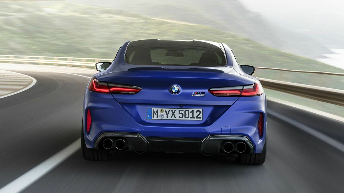 BMW M8 Competition Coupé - Heckansicht