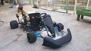 Azzurro 110cc go kart Gaven Gold Coast City Preview