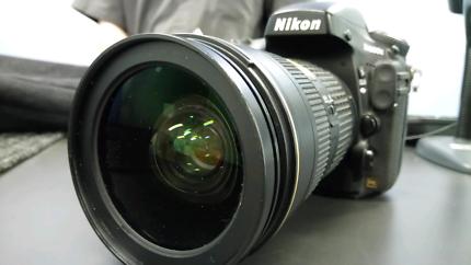 Nikon D800e DSLR Full Frame, with a  2.8 24-70 lens + 4 batteries