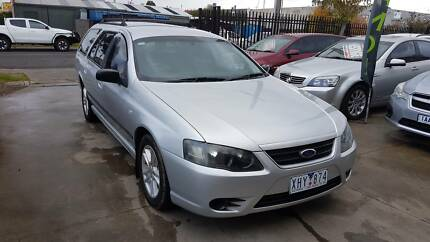 2006 Ford Falcon BF MKII Wagon LPG AUTO Williamstown North Hobsons Bay Area Preview