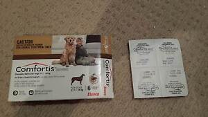 Comfortis - Dogs 27.1-54kg 4 tablets only (I used 2) Expires 6.17 Eleebana Lake Macquarie Area Preview
