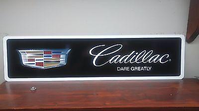 Cadillac Aluminum Sign  6