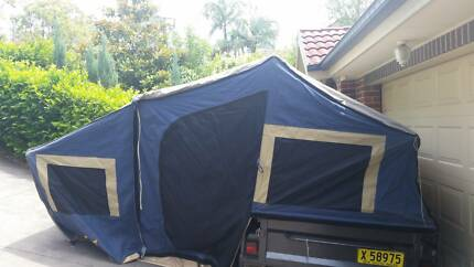 Small family campertrailer Epping Ryde Area Preview