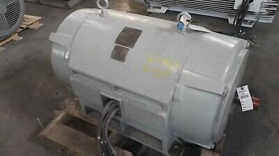 600 Hp Westinghouse Ac Electric Motor 1800 Rpm Fr 509us Dpbb 480 V Eok