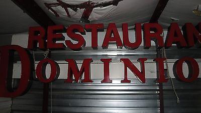 Commercial Restaurant Dominion Light Sign