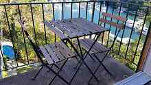 Outdoor table and 2 chairs Mosman Mosman Area Preview
