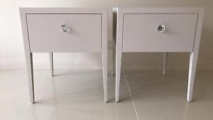 Contemporary style side tables x 2 Sylvania Sutherland Area Preview