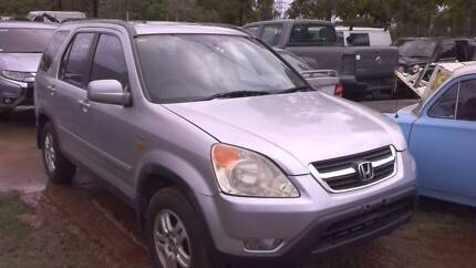 HONDA CRV 2003 WAGON 4CYL, ( NOW WRECKING COMPLETE VEHICLE )