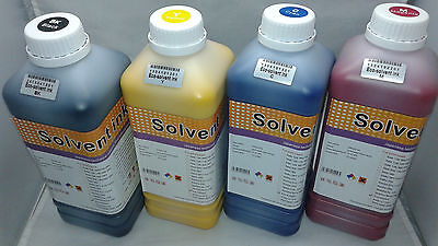 Eco Solvent Ink Dx4 Dx5 Dx6 Dx7 Roland Mimaki Mutoh Printers 4 Colors Liter Usa
