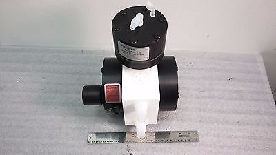 Trebor Magnum 610 Ultra High Purity Chemical Pump W Model 75 Surge Suppressor