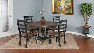 Furniture Bourbon (Sunny Furniture Bourbon Country 5 Piece Dining Table Set )