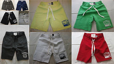 NWT Abercrombie & Fitch Athletic Fleece Gym Sweat Shorts Pants M and L and XL