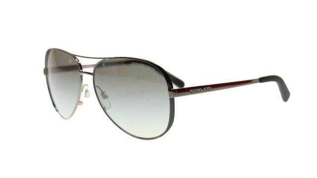 Michael Kors Chelsea Sonnenbrille Gunmetal 101311 59mm MqzwtjH