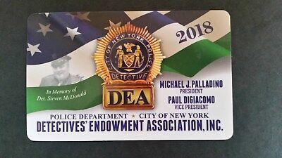 """1 BRAND NEW """"""""COLLECTIBLE"""""""" 2018 DEA  PBA CARD """""""" NOT A CEA SBA LBA  CARD"""""""""""