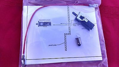 1955 56 57  CHEVY  CHEVEROLET GLOVE BOX  LIGHT ASSEMBLY.,NEW REPRO