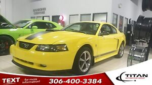 2003 Ford Mustang Mach 1|V8|5 spd Manual|Leather|Alloys
