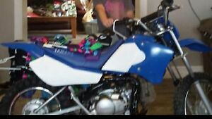 2003 Yamaha TT-90E clutchless works perfect