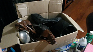 Box of Womens shoes X8 Wilsonton Toowoomba City Preview