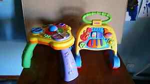Fisher price walking frame and play table Murray Bridge Murray Bridge Area Preview