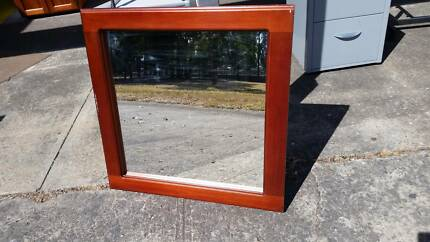 CLEAN*QUALITY*STRONG TIMBER FRAMED WALL MIRROR*+ LOTS MORE STUFF