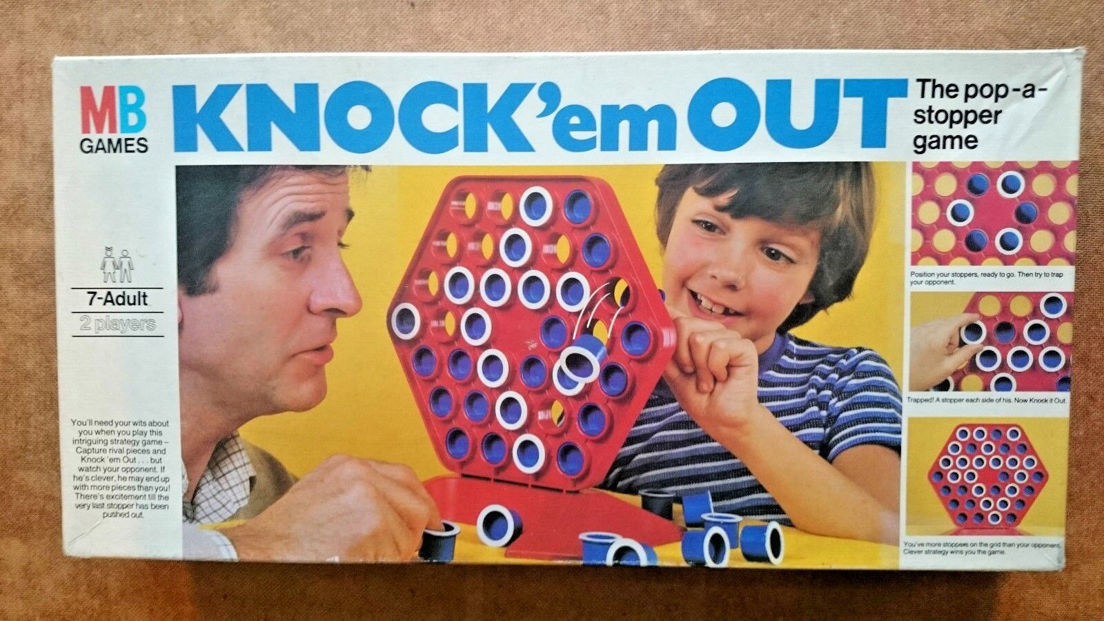 Knock 'em  Out Game by MB 1980