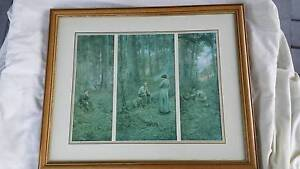 Art: Frederick McCubbin Framed Print of The Pioneer New Lambton Heights Newcastle Area Preview
