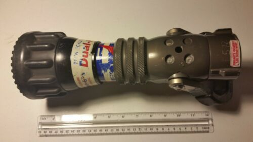 TFT Fire Hose Nozzle Dual-Force Dual Pressure 70-250 GPM Automatic #2