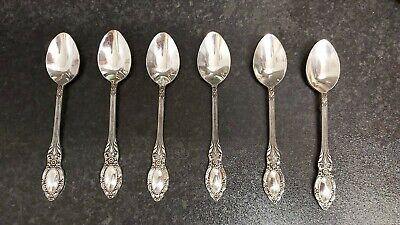 Six Melchoir USSR Soviet Tea Spoons Vgc