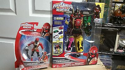 Power Rangers Super Megaforce Legendary Megazord & Red Ranger Action Hero (Power Rangers Super Megaforce Legendary Megazord Figure)