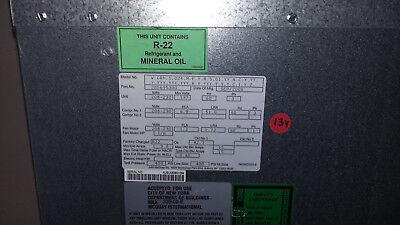Mcquay Wcrh1024mfyr Sn Aubu083801084 Ceiling-mounted Horiz Heat Pump 24000btu